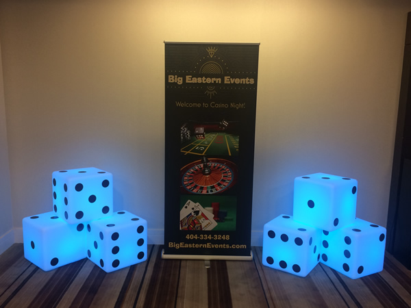 casino theme party services